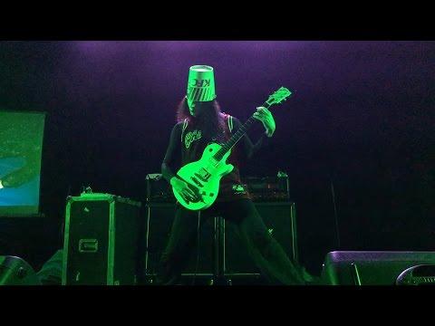 Buckethead! Live In Columbia, MO!  04-18-2016 (ENTIRE SHOW! CLOSE!) HD 1080P 60F
