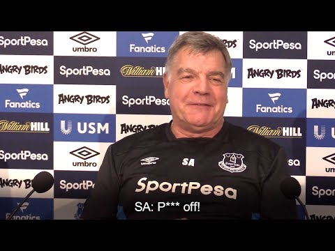 Sam Allardyce - Survey Asking Everton Fans To Rate Me Was A 'Big Mistake'