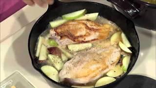 Maple & Apple Braised Chicken