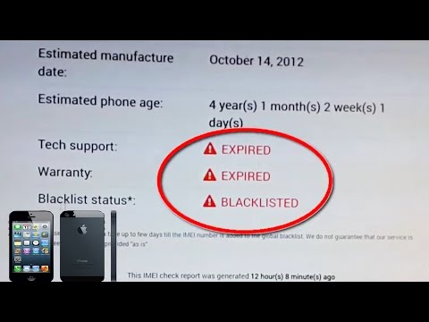 How to Check if iPhone is IMEI Blacklisted // Lost or Stolen  (NEPAL)