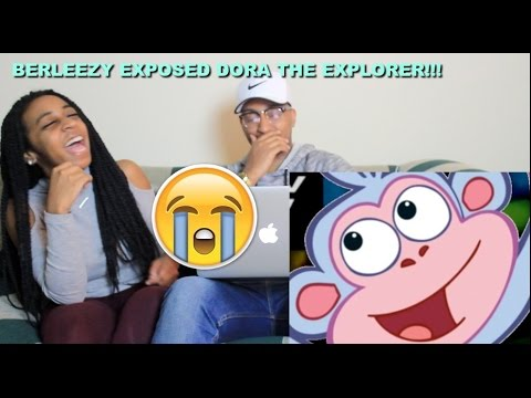 """Couple Reacts : """"DORA THE EXPLORER: EXPOSED"""" By Berleezy Reaction!!"""