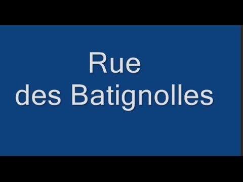 Rue des Batignolles Paris Arrondissement  17e