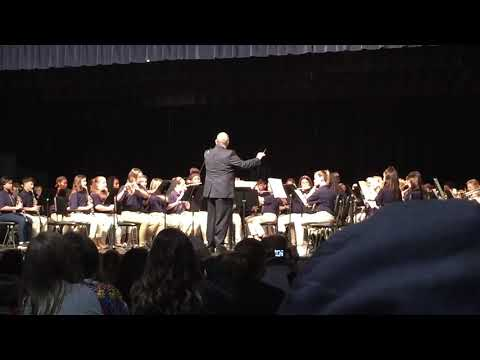 Swansboro Middle School Winter Band Concert 2017 Song 1