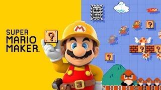 Super Mario Maker: Primeira Gameplay - Exclusivo Nintendo Wii U