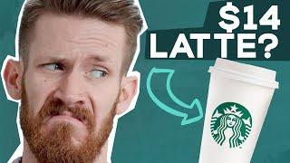 I Tried the Entire Starbucks Menu in ONE LATTE