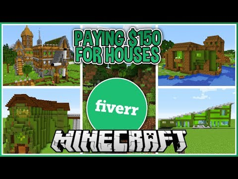 I Paid People to Build me a Minecraft House!