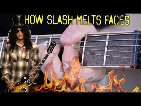 How Slash Melts Your Face
