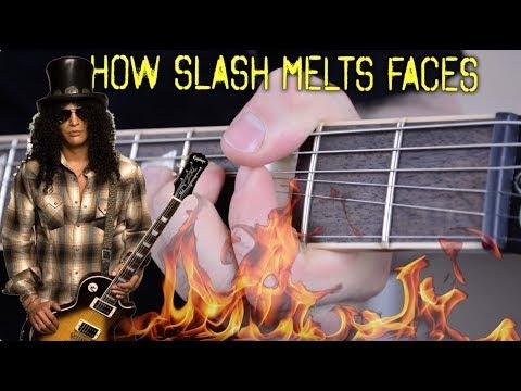 How Slash Melts Your Face