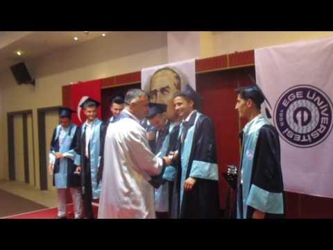 Ziraatçı adayları mezun oldu