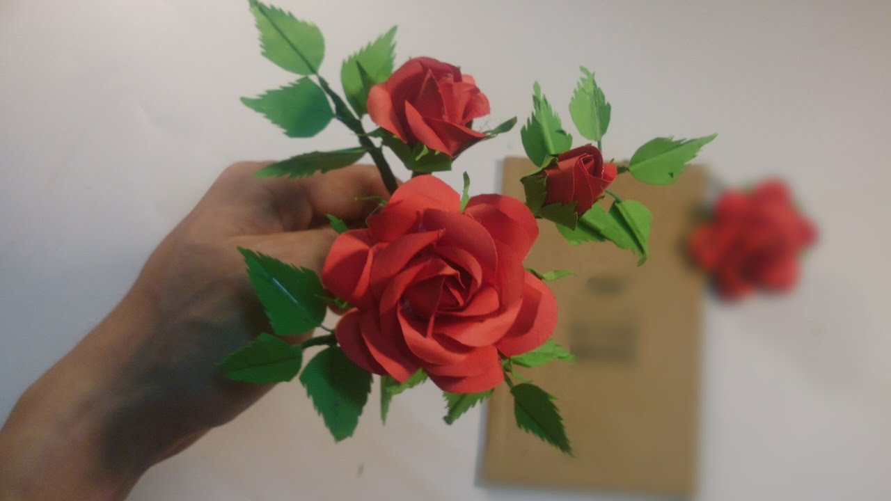 How to make realistic roses super easy way to make a real rose how to make realistic roses super easy way to make a real rose from paper good luck for you mightylinksfo