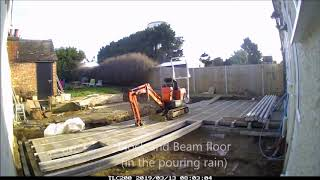 Installing a Block and Beam floor