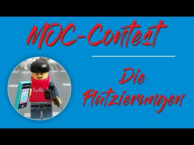 MOC-Contest Platzierungen