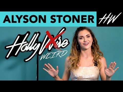 Weirdest Moments with Alyson Stoner | Hollywire