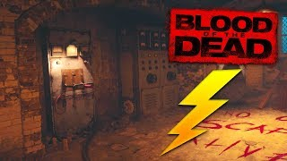 'BLOOD OF THE DEAD' HOW TO TURN THE POWER ON FULL TUTORIAL!!! (BLACK OPS 4 ZOMBIES)