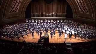Temptation & Hawaiian War Chant - Michigan Marching Band 2011 @ Band-O-Rama