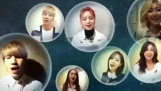 t ara joined the 2015 for mbc s virtual choir