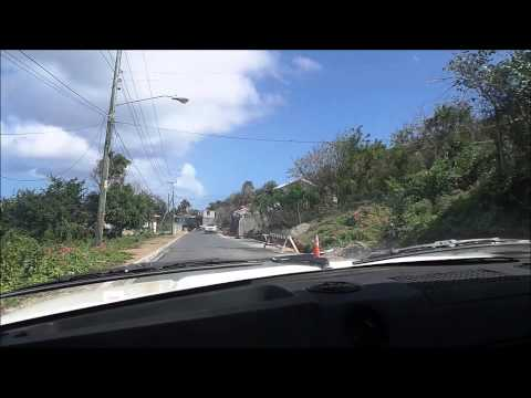 Nevis Road Trip - a drive around the Island!
