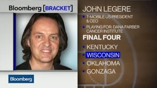 March Madness: T-Mobile CEO John Legere Picks Wisconsin