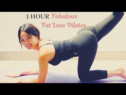 1 Hour Fabulous Fat Burning Pilates Workout | Full Length Total Body Workout