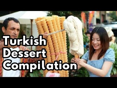 istanbul street food | turkish dessert compilation | turkey street food