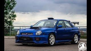 Такую Subaru ты еще не видел! Боком на Subaru Impreza WRX STI 2.5l