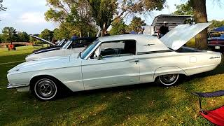 1966 PLATINUM aka DIAMOND BLUE FORD THUNDERBIRD 428 ENGINE