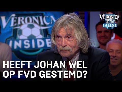 Heeft Johan wel op Forum voor Democratie gestemd? | VERONICA INSIDE