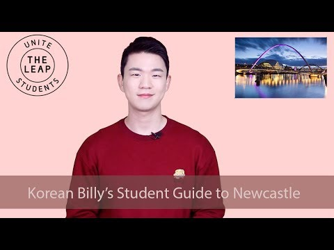 Korean Billy's City Guide to Newcastle   Unite Students