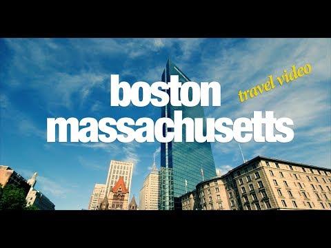 Boston (Massachusetts) Travel Video June 2017