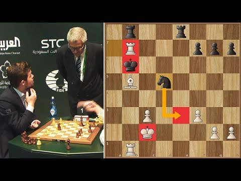 Unbelievable! Magnus Carlsen Loses Because His Opponent Made an Illegal Move   WBC   Round 1