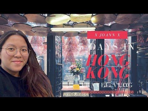 HONG KONG ~ TRAVEL VLOG | Joann Chan (Food Guide + New Year)