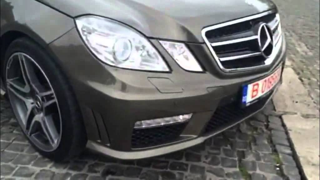 Body Kit suitable for MERCEDES Benz E-class W212 09-13 E63 Design