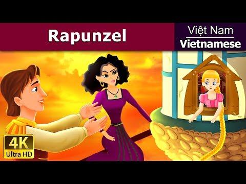Rapunzel - Chuyện cổ tích - Chuyện kể đêm khuya – Phim hoạt hình - 4K UHD - Vietnamese Fairy Tales
