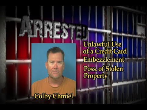 06/08/2017 Arrest Colby Chmiel | Nye County Sheriff's Office
