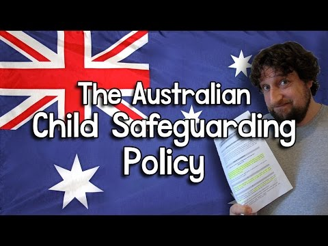 The Australian Child Safeguarding Policy - Cedars' vlog no. 151