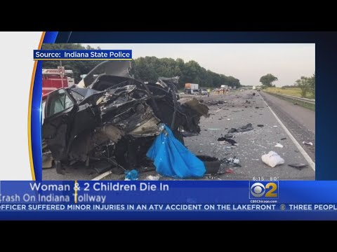 Woman And Two Children Killed In Wrong-Way Crash On Indiana Toll