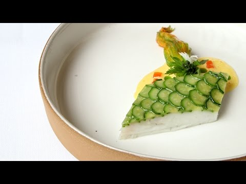 What Eleven Madison Park's 11-course tasting menu looks like