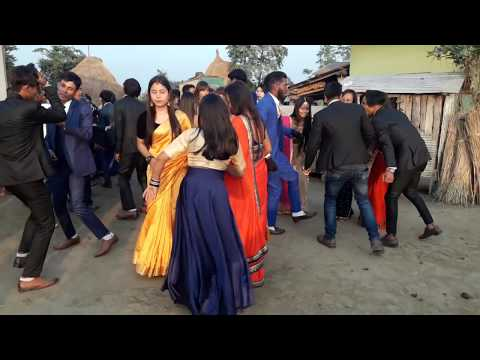 Chitwan Tharu Wedding Dance At Hajipur