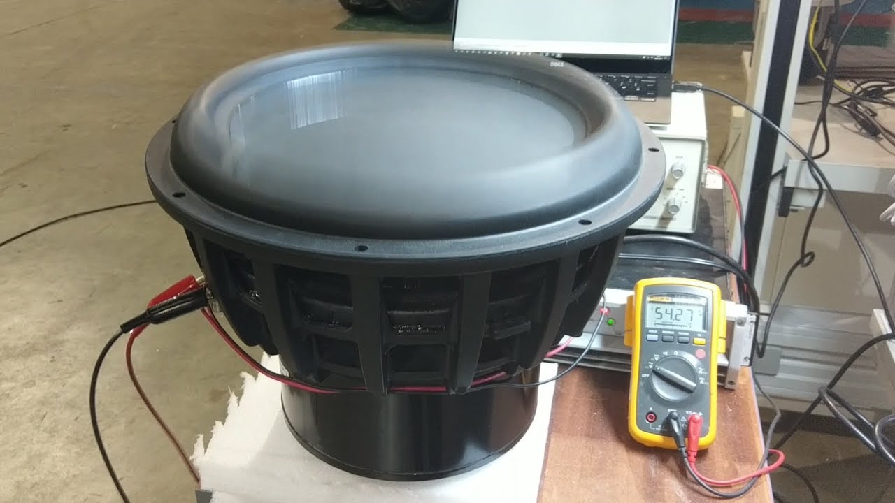 Tymphany STW350F - 15 Inch Subwoofer Technical Overview