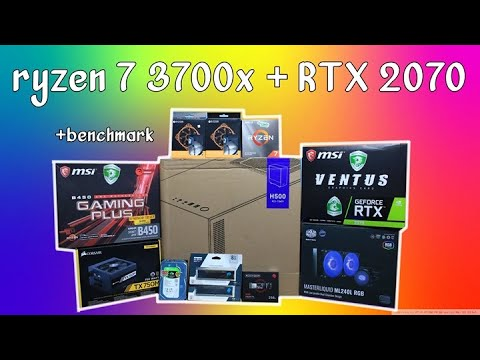 RAKITAN PC 20JUTA RYZEN 7 3700X + RTX 2070