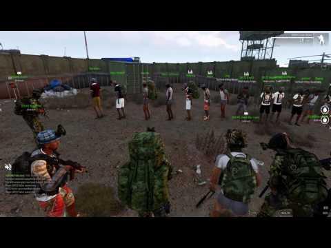 ARMA 3 GTA - Gathering An Army to rob ROYAL MINT