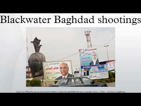 Blackwater Baghdad shootings