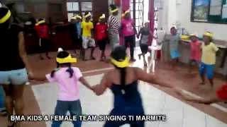 BMA Kids Singing Ti Marmite - Easter Holiday