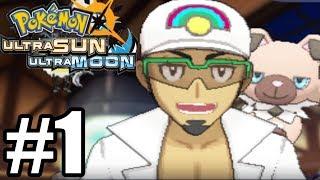 Pokemon Ultra Sun u0026 Ultra Moon Gameplay Walkthrough Part 1 [ 3DS ]