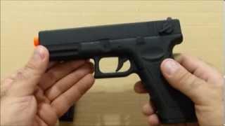 Teste Prático - Pistola elétrica de airsoft Cyma Glock G18C