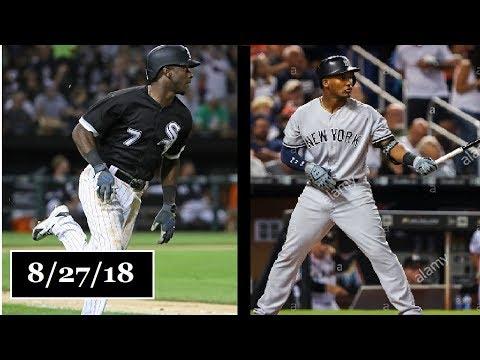 Chicago White Sox vs New York Yankees Highlights || August 27, 2018
