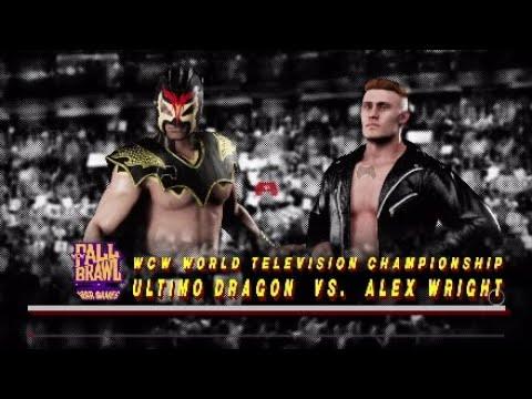WCW2K18 Fall Brawl 97 Match 3 WCW World Television Championship