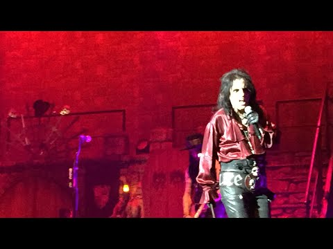 Alice Cooper Ol Black Eyes Is Back Tour Trusts Arena Auckland New Zealand 20/02/2020