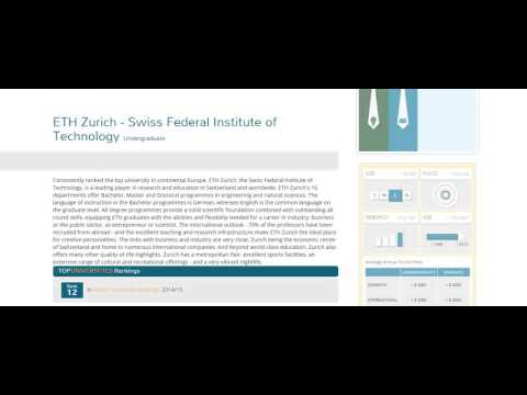 ETH Zurich   Swiss Federal Institute of Technology