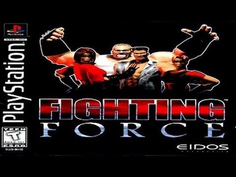 Полное прохождение (((Sony PlayStation))) Fighting Force / Боевая сила